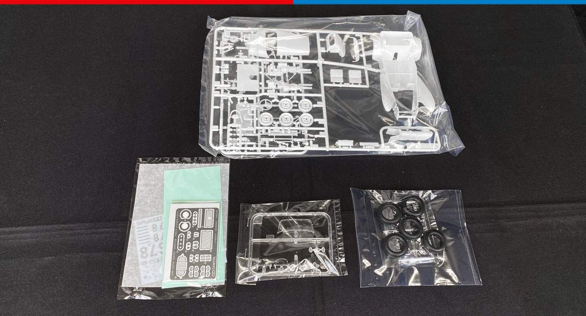 First Look: 24357 Lotus Super 7 Series II Model Kit with Photo-Etched Parts