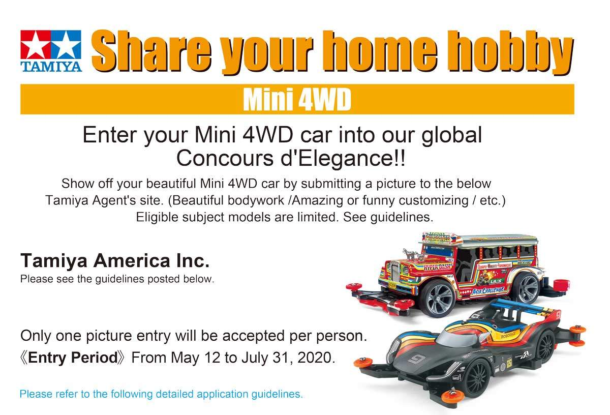 Share Your Home Hobby Contest - Mini 4WD Edition