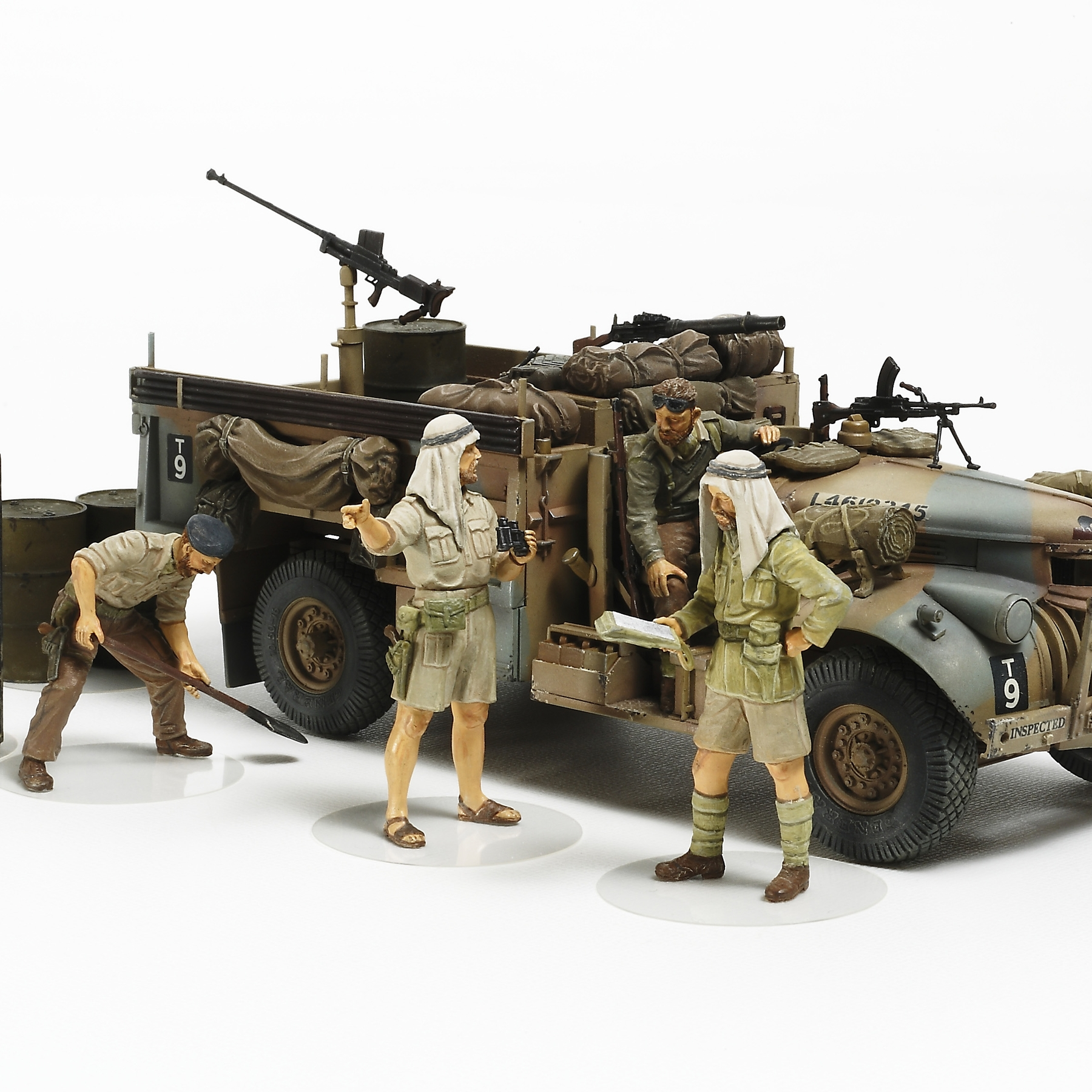 1/35 British Lrdg Command Car