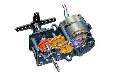 4-Speed High Power Gearbox He