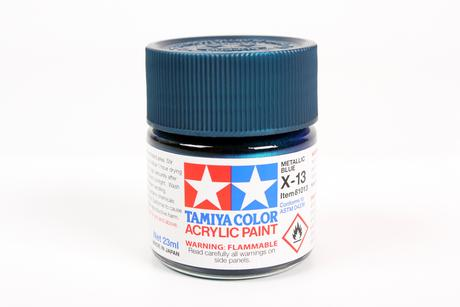 Acrylic X-13 Metallic Blue