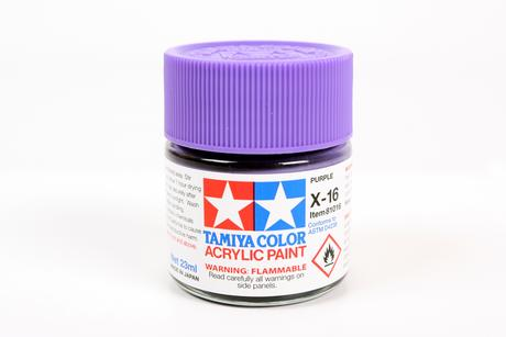 Acrylic X-16 Purple