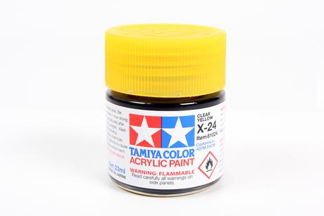 Acrylic X-24 Clear Yellow