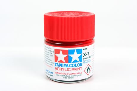 Acrylic X-7 Red