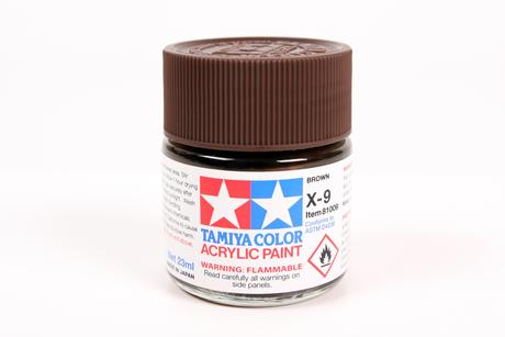 Acrylic X-9 Brown