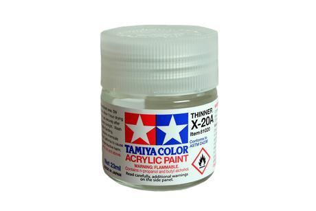 Acryl/Poly Thinner X-20A 23Ml
