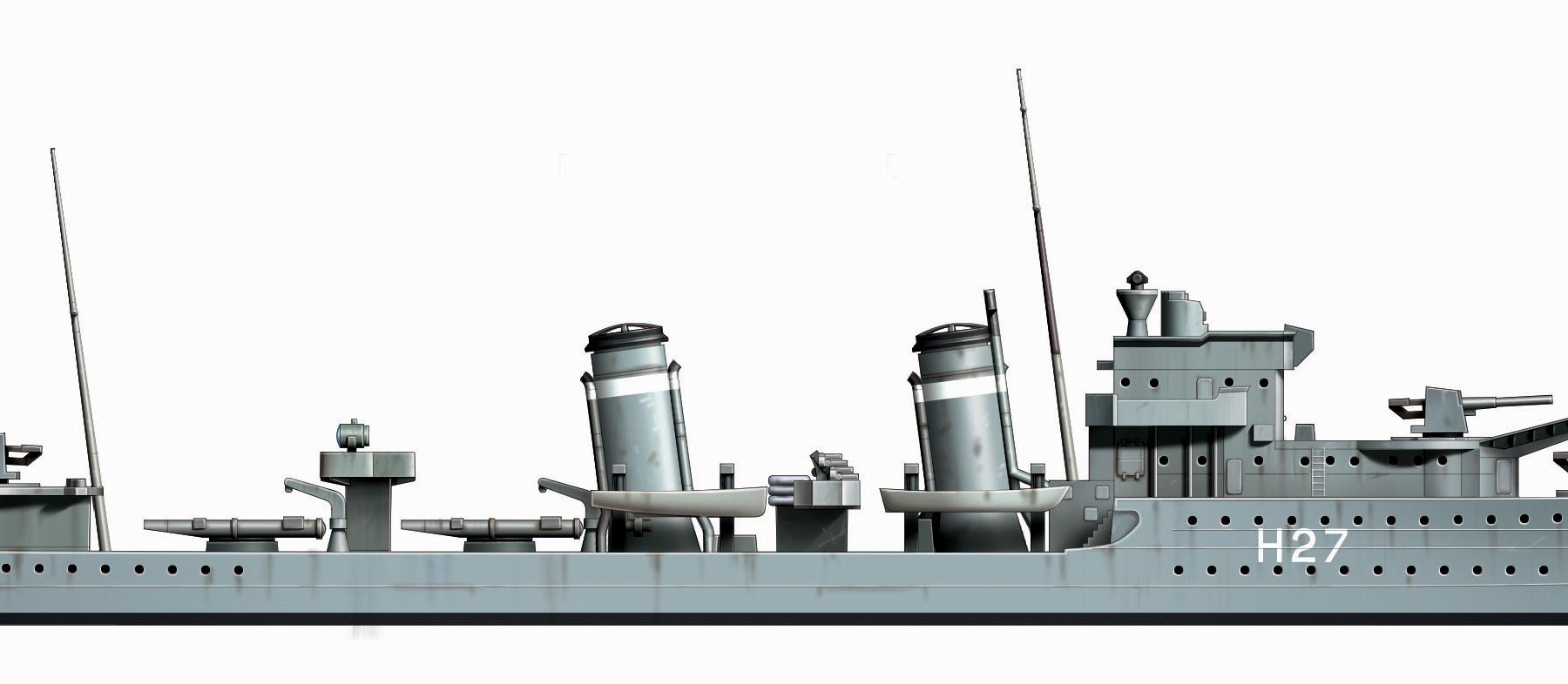 Tamiya 1//700 HMS Hood Battleship /& E Class Destroyer Battle of Denma TAM31806