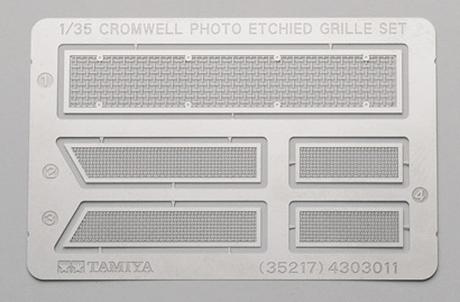 Cromwell Photo Etched Grille