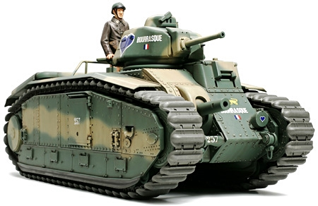 French Battle Tank Char B1 Bis