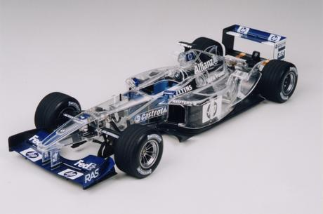 Full View Williams F1 Bmw Fw24