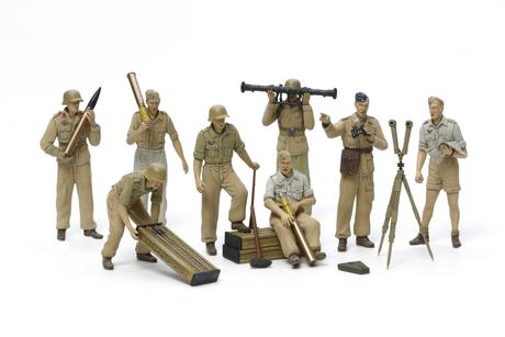 German Artillery Crew Set