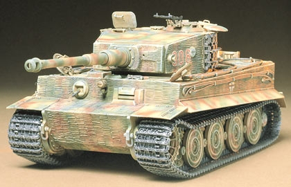 German Heavy Tiger I Late Ver