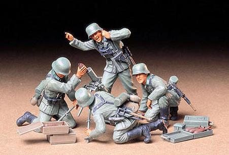 German Infantry Mortar Team