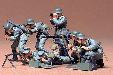 German Machine Gun Troops Kit