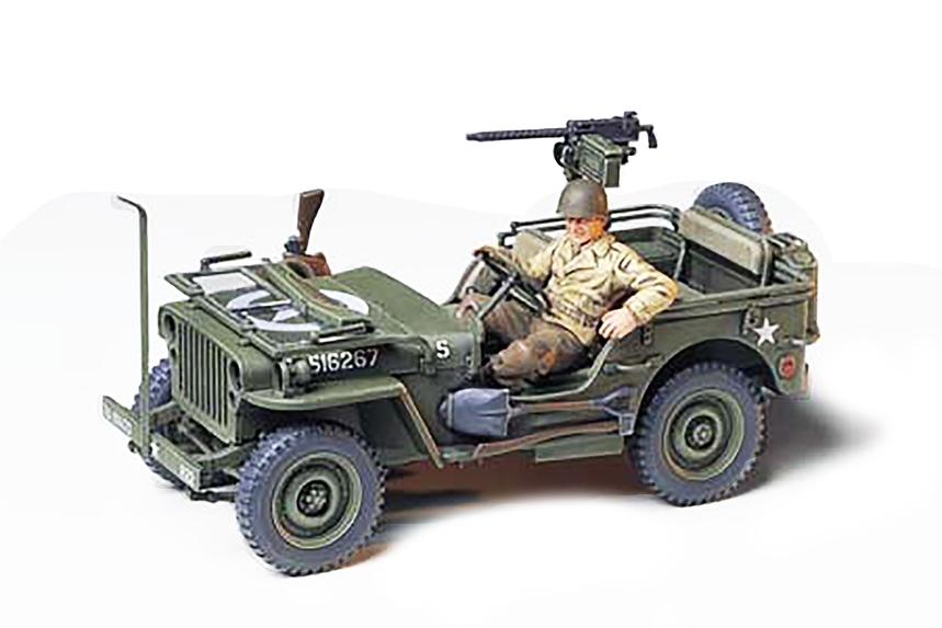 Jeep Willys Mb 1 4 Ton Truck None Tamiya Usa
