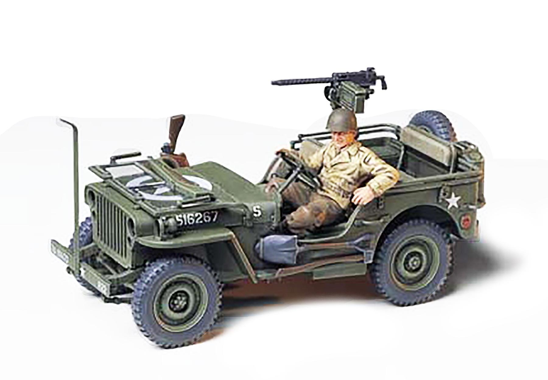 Tamiya 1//35 Military Miniature Series No.219 US Army U.S Jeep Willis MB Pl