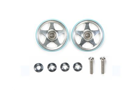 Jr 19Mm Alum 5 Spoke Rollers