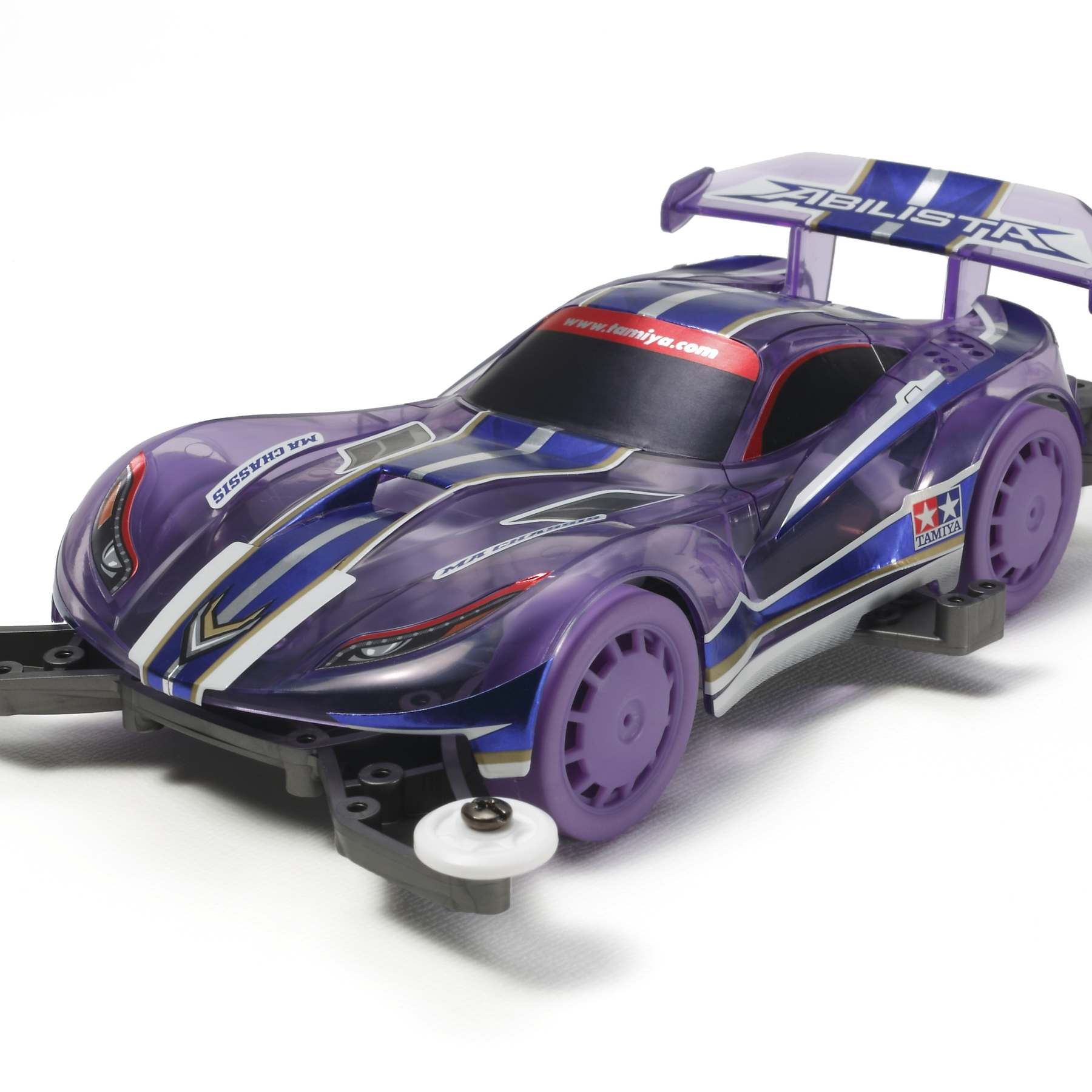 Jr Abilista Clear Purple Sp Ma Chassis Tamiya Usa Basic Tune Up Parts Set For Ar