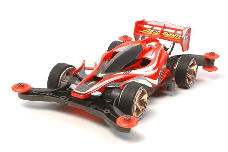 Jr Aero Avante Clear Red Sp.