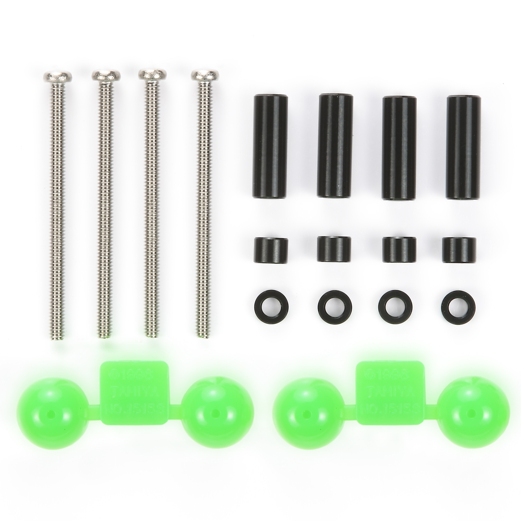 Jr Aluminum Spacer Set Black