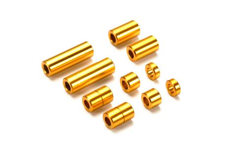 Jr Aluminum Spacer Set Gold