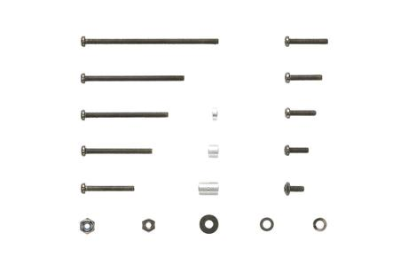 Jr Black Plated Screw Set