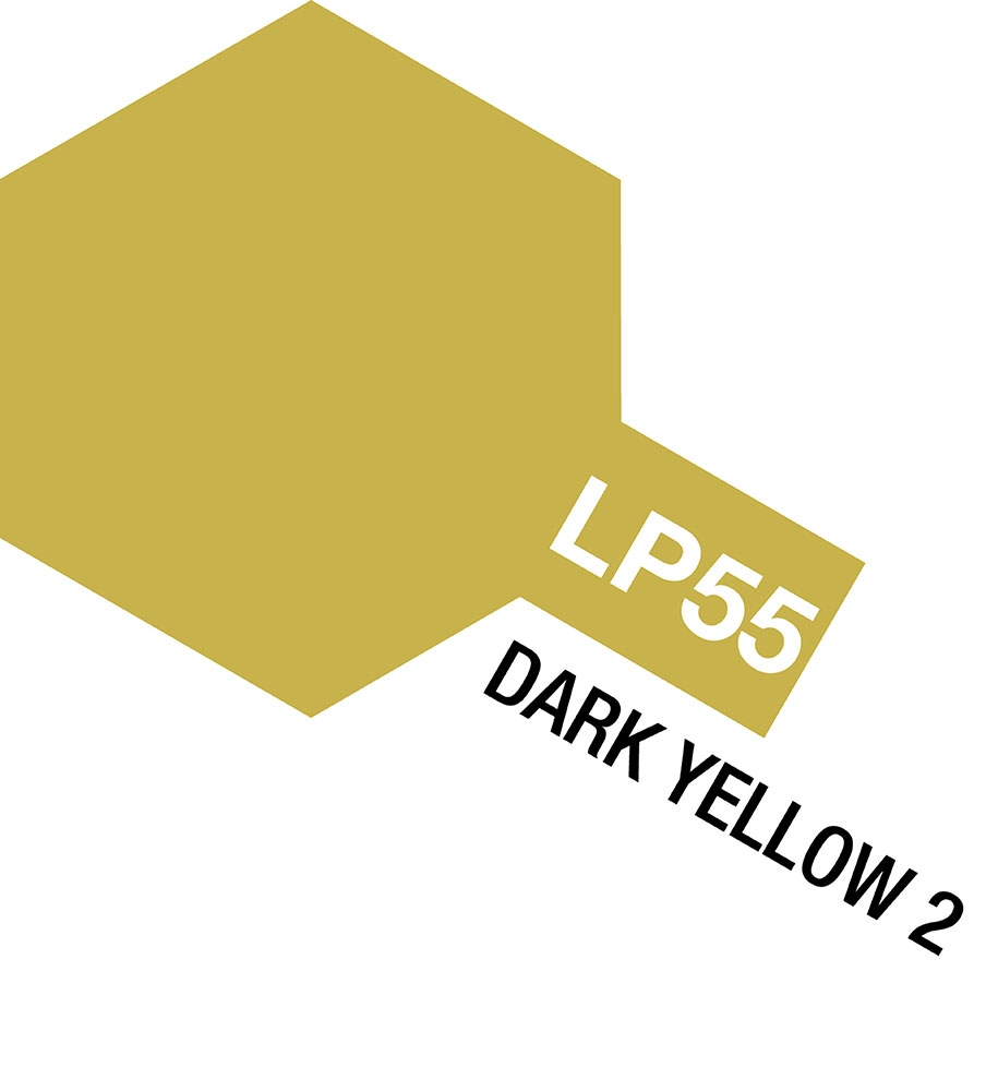Lacquer Lp-55 Dark Yellow 2
