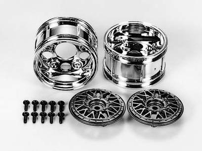 Rc 2-Piece Wide Mesh Wheels
