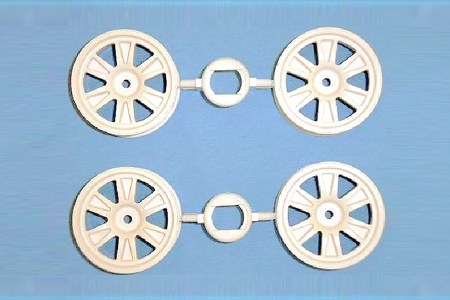 Rc 24Mm 12-Spoke Wheels-4Pcs