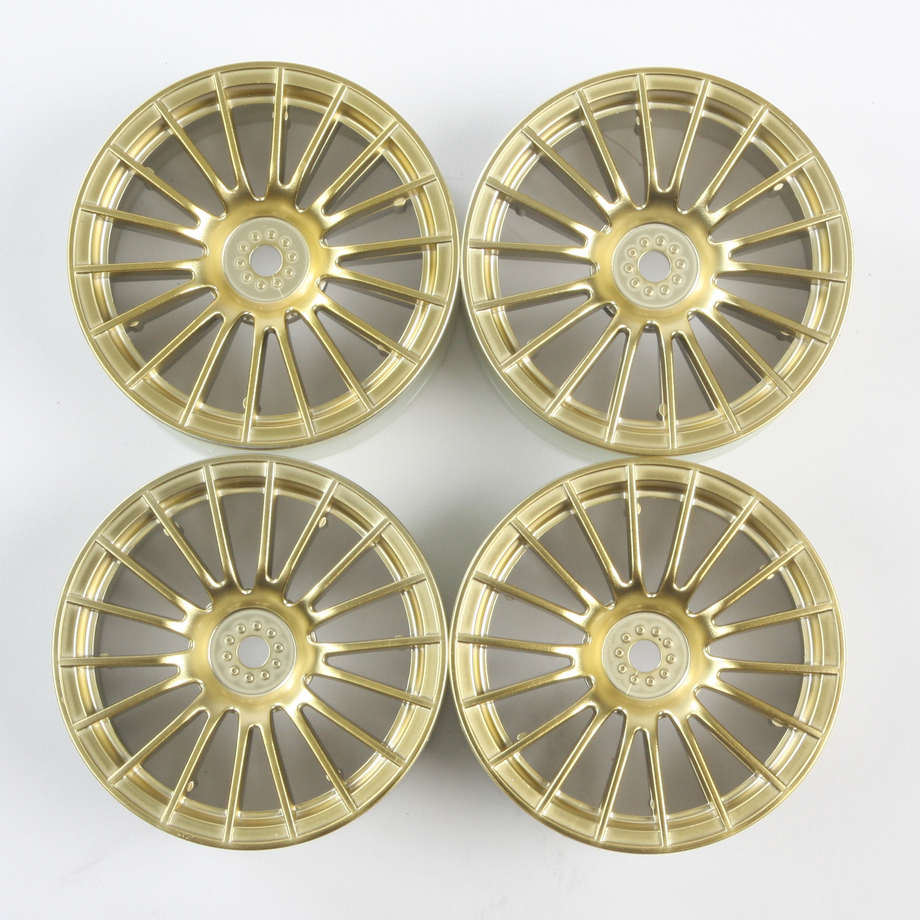 Rc 24Mm 18-Spoke Wheels-4Pcs