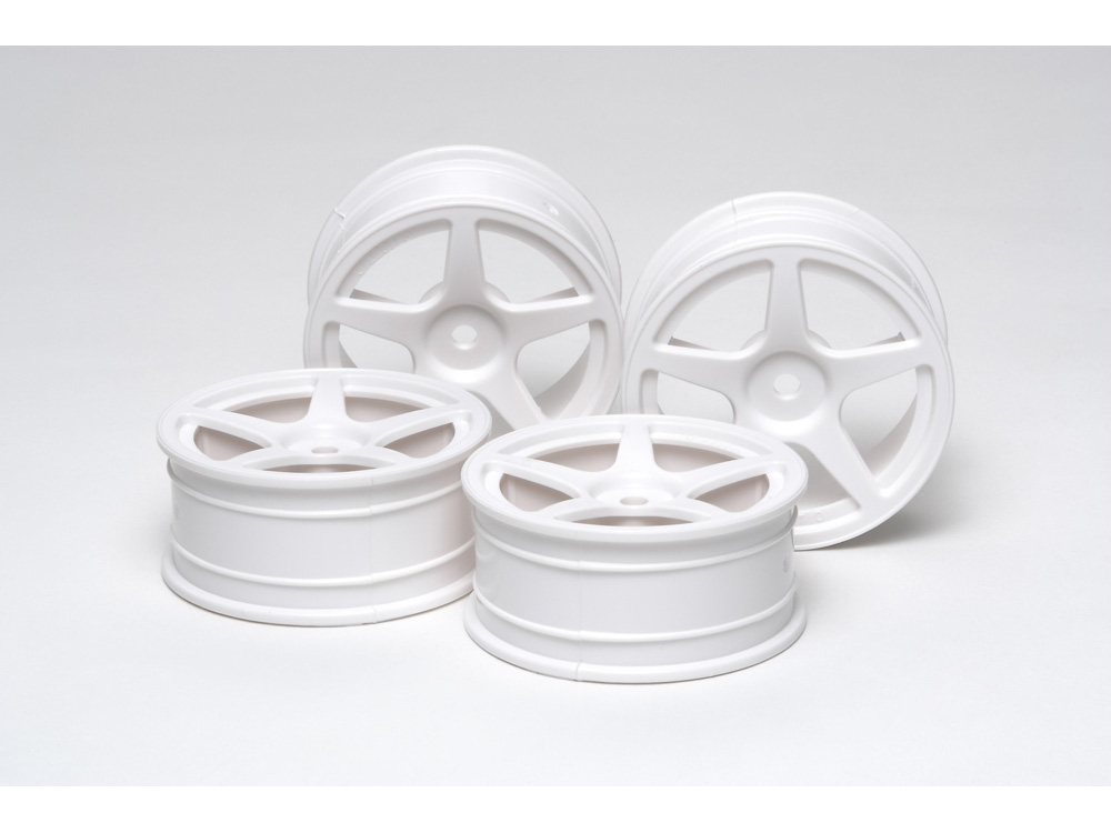 Rc 24Mm 5-Spoke Wheels 4Pcs