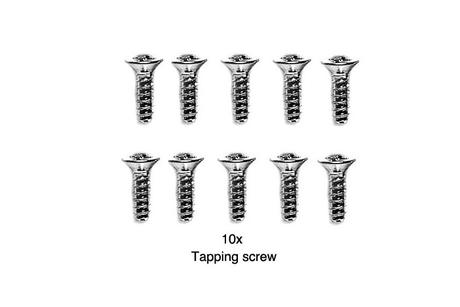 Rc 3X10Mm Counter Screw: 44002