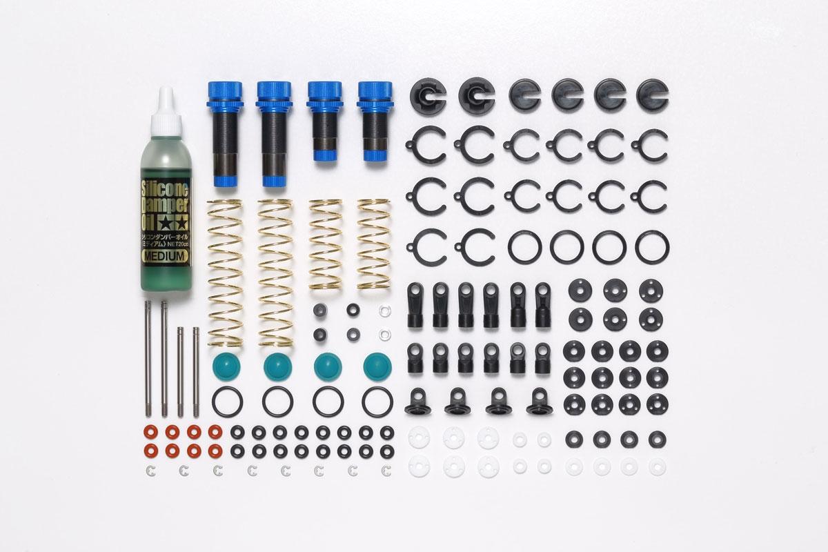 Tamiya 53926 DF-03 Aluminum Damper Set NIB DB01//DB02//TT02B//DF02//DT02//DT03