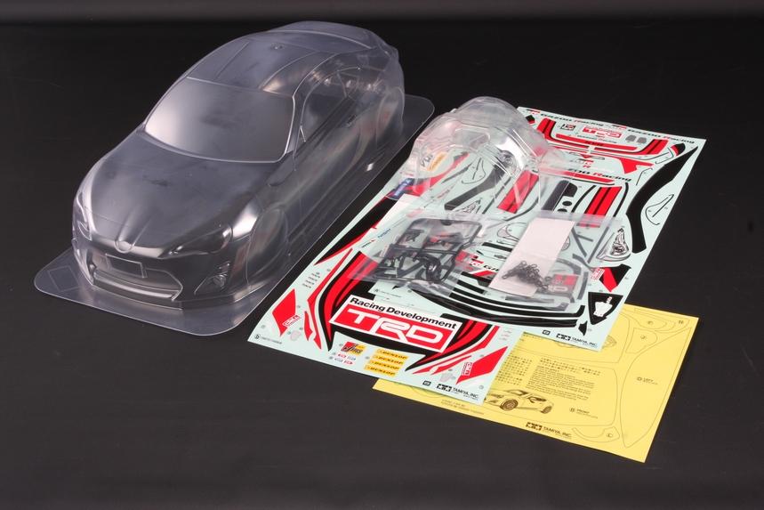 Rc Body Set Gazoo Racing Trd 86 Tamiya Usa