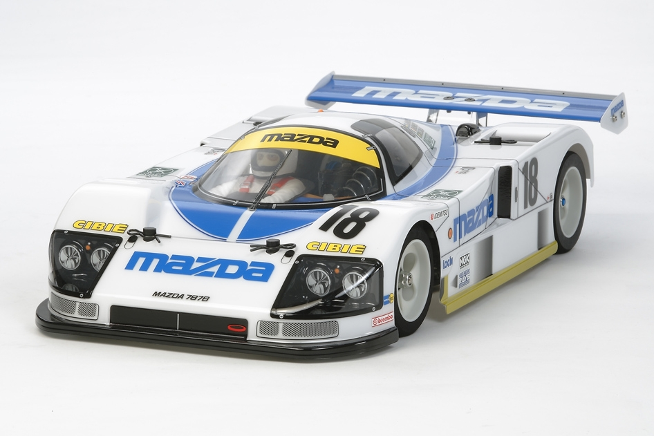 Rc Body Set Mazda 787B No.18