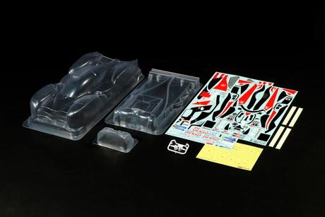 Rc Body Set Toyota Gazoo Ts050