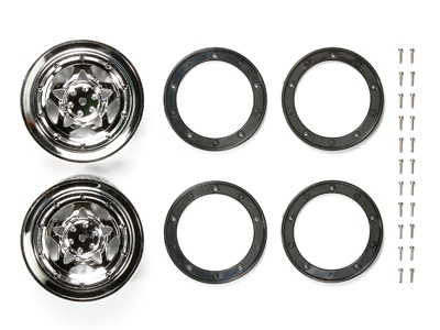Rc Cr01 Metal Plated Wheels