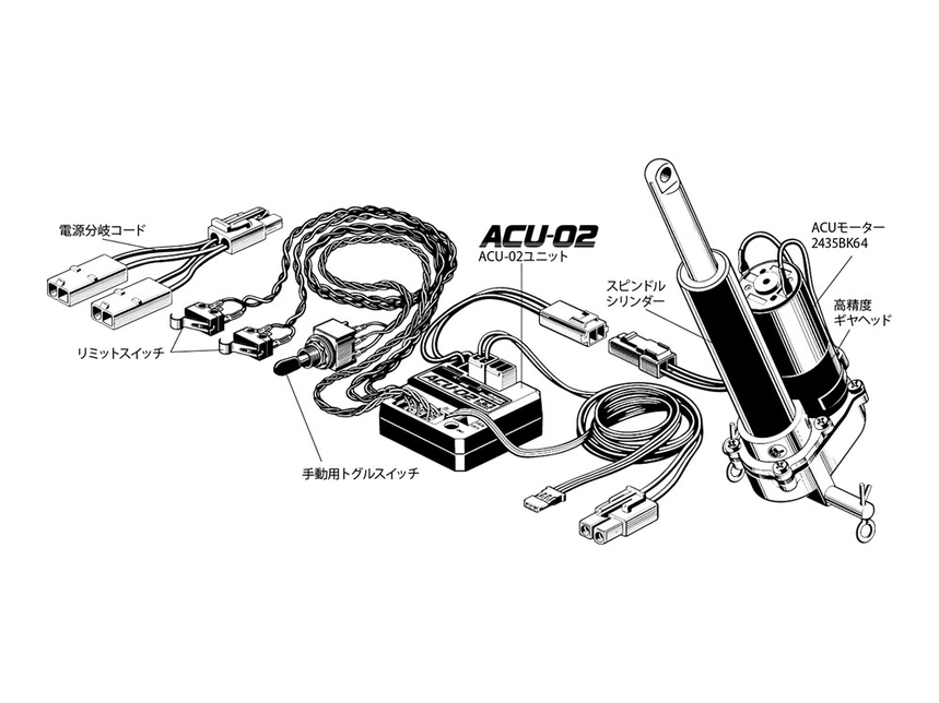 Rc Electric Actuator Set