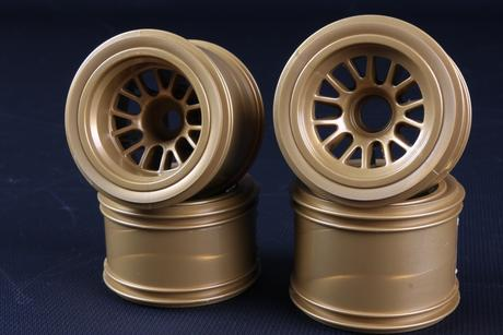 Rc F104 Mesh Wheel Set