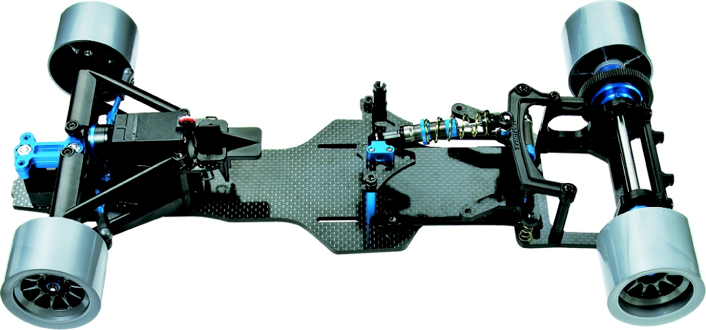 Rc F104 Version Ii Chassis Kit