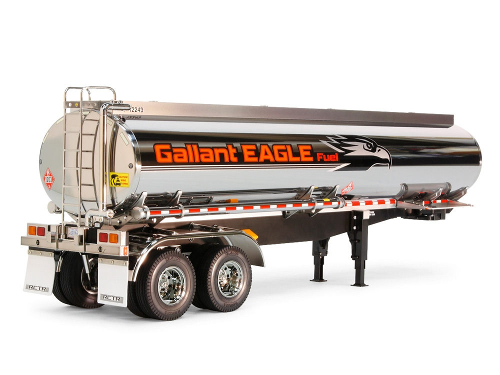 Rc Fuel Tanker Trailer