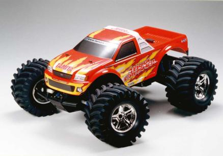 Rc Gp Rtr Terra Crusher Red