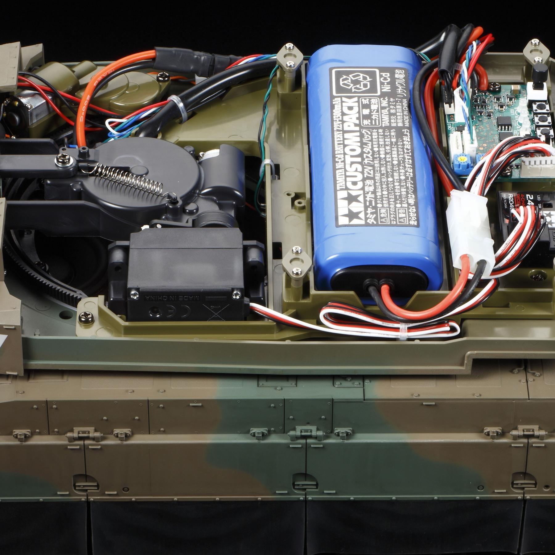 Rc Jgsdf Type 10 Tank Full Option Kit Tamiya Usa Circuit
