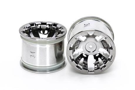 Rc Rear Chrome Plated Wheels
