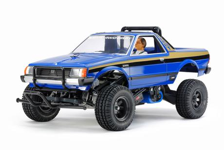 Rc Subaru Brat Blue Version