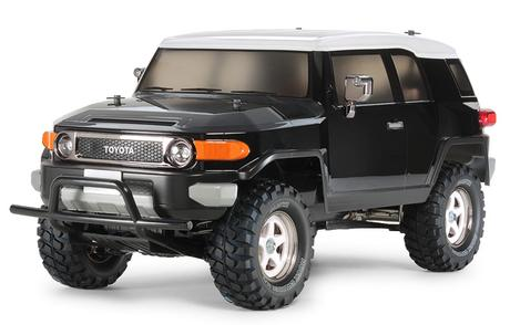 Rc Toyota Fj Cruiser Black Sp.
