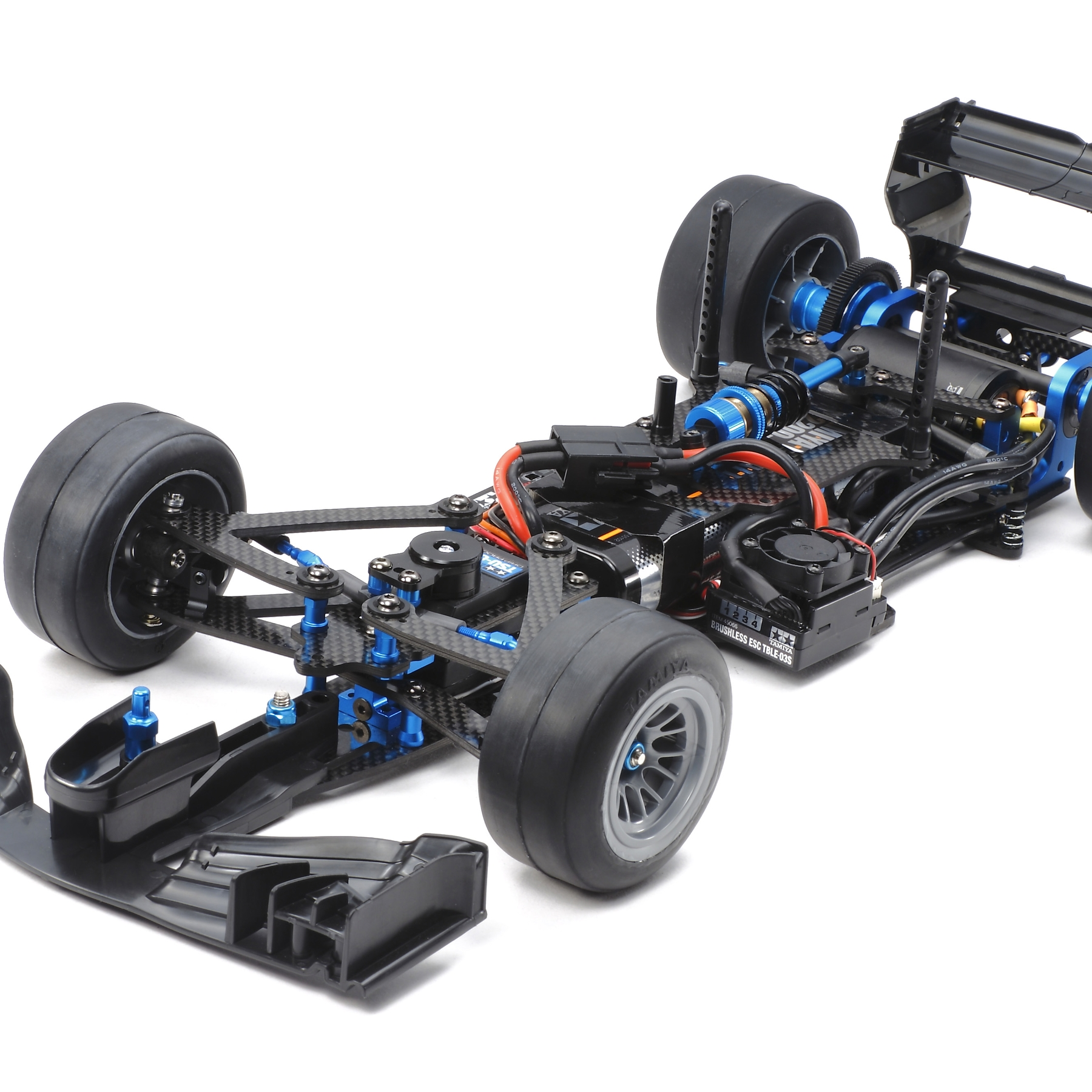 Rc Trf103 Chassis Kit