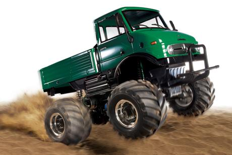 Rc Unimog 406 Wheelie Green