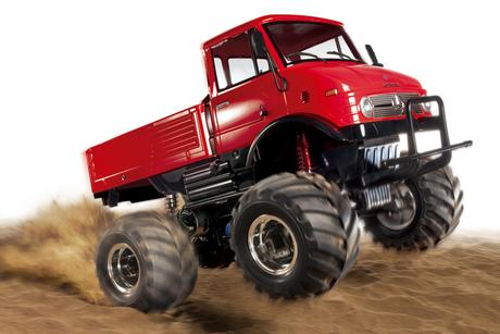 Rc Unimog 406 Wheelie Red