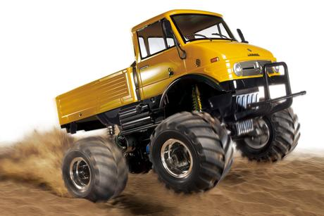 Rc Unimog 406 Wheelie Yellow